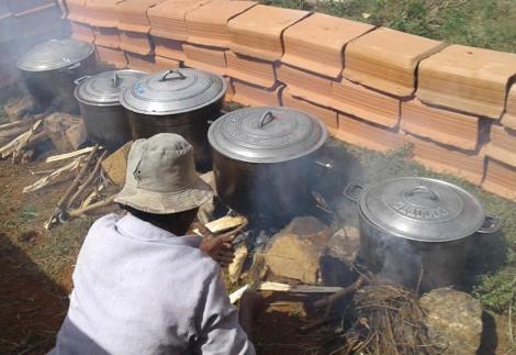 (2019) Musole, Fiadanana, Madagascar, School Canteen, cooking on wood fire