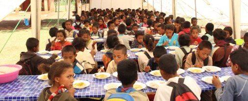 (2019) Musole, Fiadanana, Madagaskar, Schoolkantine overzicht